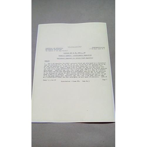 WIRELESS SET NO.88 TYPE A AFV TECHNICAL HANDBOOK MODIFICATION INSTRUCTIONS NO.2